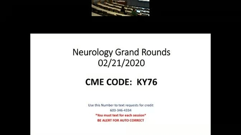 Thumbnail for entry I'm Crazy for Neurology