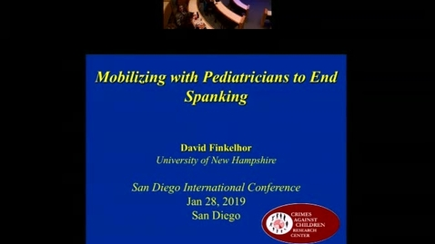 Thumbnail for entry Mobilizing with Pediatricians to End Spanking