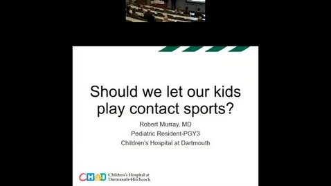 Thumbnail for entry Should we let our children play contact sports