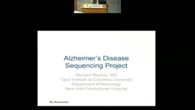 Thumbnail for entry The Alzheimer's Disease Sequencing Project
