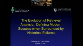 Thumbnail for entry The Evolution of Retrieval Analysis: Defining Modern Success when Surrounded by Historical Failures