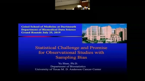 Thumbnail for entry Statistical challenges and opportunities for observational studies with sampling biases