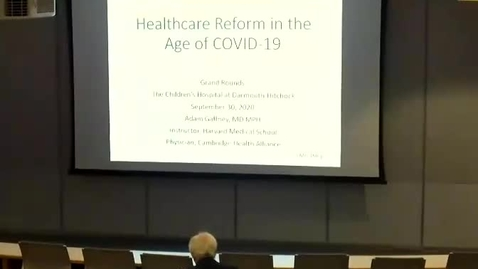 Thumbnail for entry Healthcare Reform in the COVID-19 Age