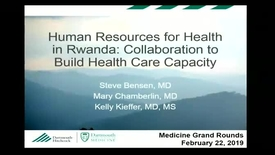 Thumbnail for entry Human Resources for Health in Rwanda: Collaboration to Build Health Care Capacity