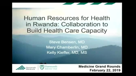 Human Resources for Health in Rwanda: Collaboration to Build Health Care Capacity