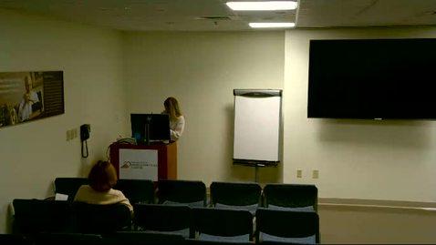 Thumbnail for entry Heart & Vascular Center: Research Training Seminar