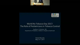 Thumbnail for entry World No Tobacco Day, 2017: The Pediatrician's role in Tobacco control