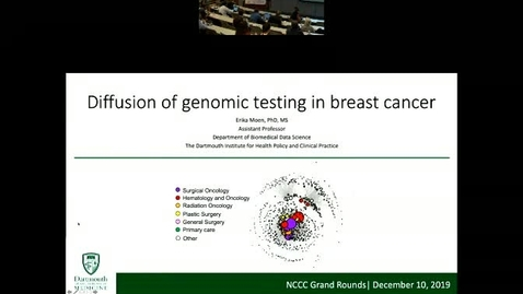 Thumbnail for entry Diffusion of Genomic Testing in Breast Cancer