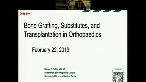 Bone Grafting, Substitutes Transplantation in Orthopaedics