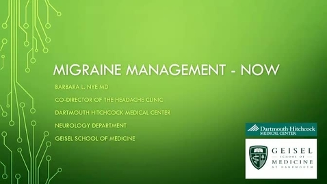 Thumbnail for entry Migraine Management-NOW