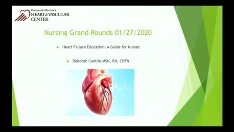 Heart Failure Education: A Guide for Nurses
