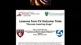 Thumbnail for entry Lesson from Cardiovascular Outcome Trials