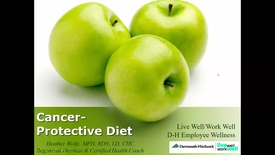 Thumbnail for entry Cancer Protective Diet