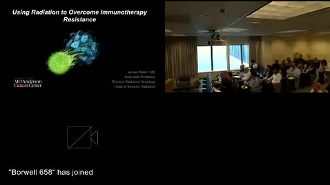 Thumbnail for entry Using Radiation to Overcome Immunotherapy Resistance