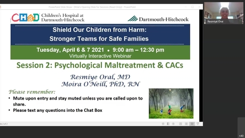 Thumbnail for entry Concurrent Session 2 Psychological Maltreatment and CACs