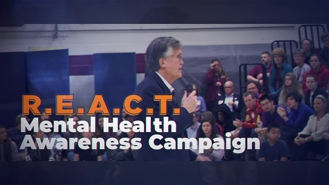 Thumbnail for entry REACT - Mental Health Awareness Campaign
