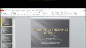 Thumbnail for entry Adjunctive Therapies in ARDS