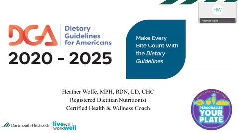 Thumbnail for entry National Nutrition Month