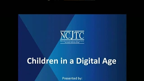 Thumbnail for entry Shield Our Children From Harm - Children in a Digital Age