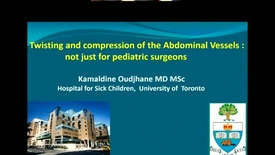 Thumbnail for entry Twisting and Compression of the Abdominal Vessels: Not Just for Pediatric Surgeons