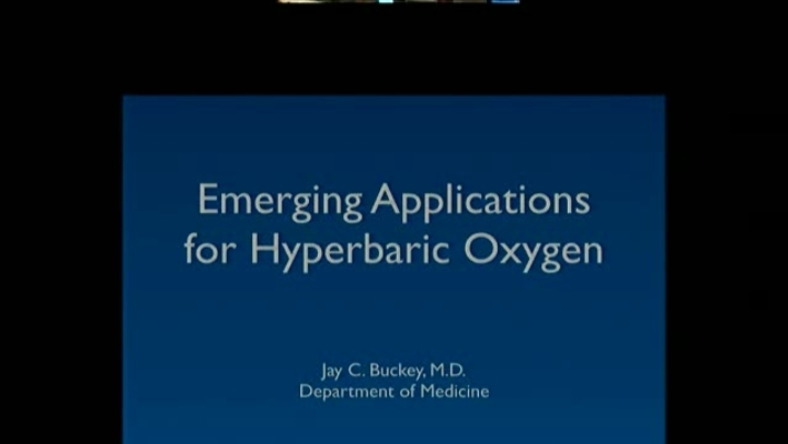 Emerging Applications for Hyperbaric Oxygen