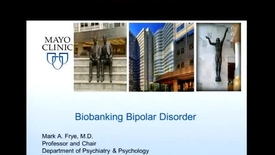Thumbnail for entry Biobanking Bipolar Disorder