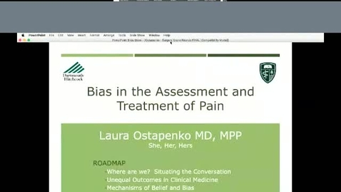 Thumbnail for entry Bias in the Assessment and Treatment of Pain