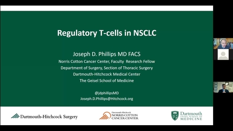 Thumbnail for entry Tregs and Non-Small Cell Lung Cancer