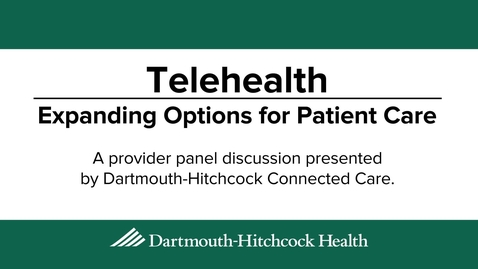 Thumbnail for entry Expanding Options for Patient Care