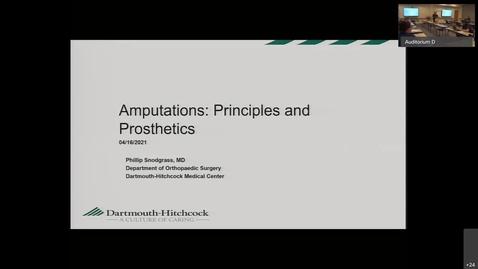 Thumbnail for entry Amputation Principles & Prosthetics