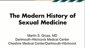 Thumbnail for entry The Modern History of Sexual Medicine