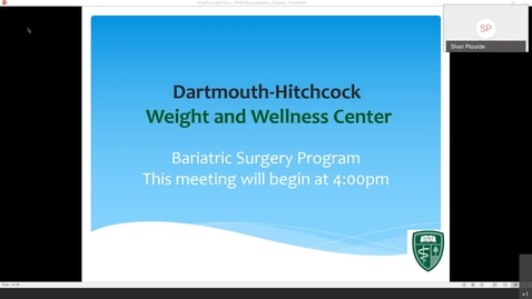 Thumbnail for entry Bariatric Introductory Seminar