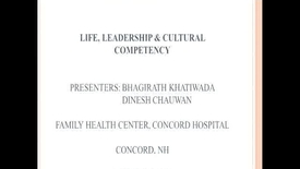 Thumbnail for entry Life, Leadership, and Cultural Competency