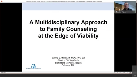 Thumbnail for entry A Multidisciplinary Approach to Family Counseling at the Edge of Viability-20210211 1911-1
