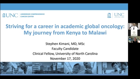 Thumbnail for entry Global Oncology as an Academic Discipline: Insights from a Cancer Treatment Program in Malawi