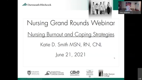 Thumbnail for entry Nursing Burnout and Coping Strategies