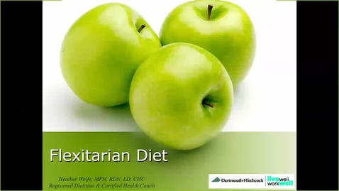 Thumbnail for entry Flexitarian Diet