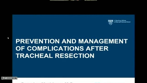 Prevention and Management of Complications After Tracheal Resection