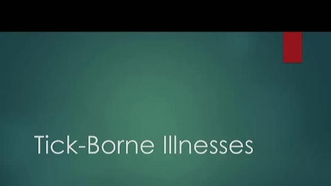 Thumbnail for entry Tick-Borne Illnesses in New England