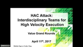 Thumbnail for entry HAC Attack: Interdisciplinary Teams for High Velocity Execution