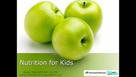 Thumbnail for entry Nutrition for Kids