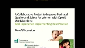 Thumbnail for entry A Checklist for Prenatal Care of the Woman with Opioid Use Disorders