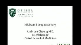 Thumbnail for entry MRSA and Drug Discovery