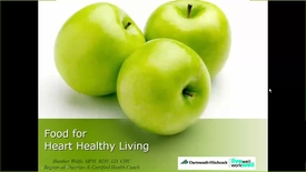 Thumbnail for entry Heart Healthy Eating