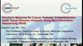 Thumbnail for entry Precision Medicine for Cancer Patients: Comprehensive Solid Tumor Genomic Analysis Using Next Generation Sequencing (NGS)