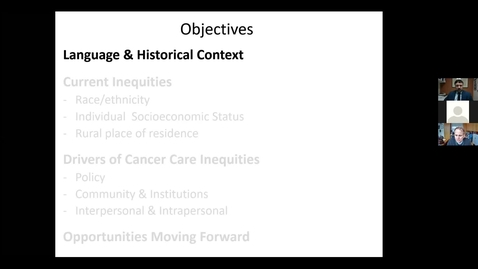 Thumbnail for entry Equity of Cancer Care in the United States