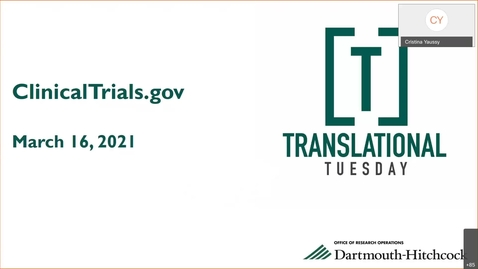 Thumbnail for entry Translational Tuesday-20210316 1802-1