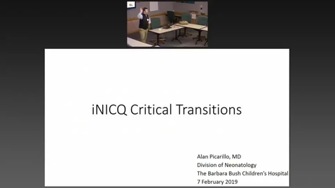 Thumbnail for entry Introducing the Vermont Oxford Network Initiative:  Improving Critical Transitions and Clinical Outcomes for Every Newborn