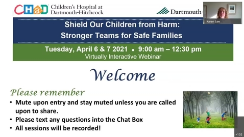 Thumbnail for entry 2021 Shield Our Children From Harm Opening Session - Cognitive Bias Dr. Antoinette Laskey