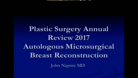 Thumbnail for entry Plastic Surgery Annual Review